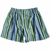 Pistachio Stripes Silk Boxers