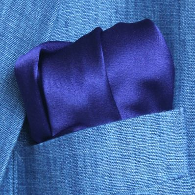 Purple Satin Silk