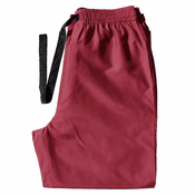 Red Wine - Men's Silk Cotton Pajama Pants