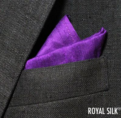 Royal Purple Dupioni