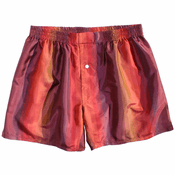 Sangria Stripes Silk Boxers