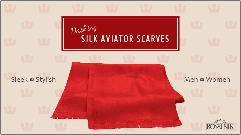 Silk Aviator Scarf