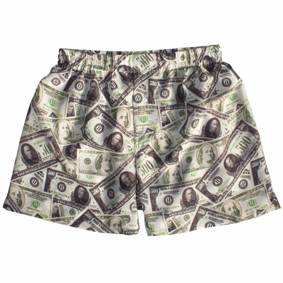 Silk Dollar Men's Boxers