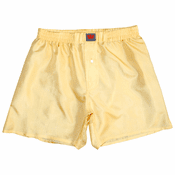 Soft Gold Mulberry Silk Boxers