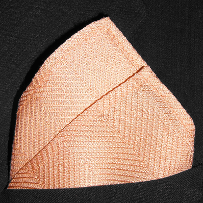 Soft Melon Herringbone