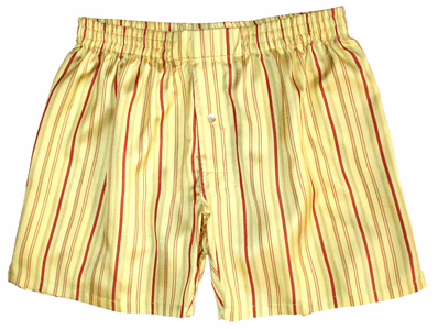 Sunflower Stripes Silk Boxers