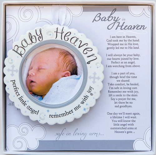 Baby Heaven Memorial Ornament