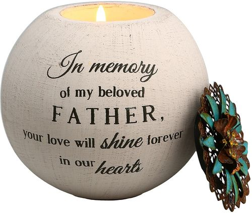 Father Memorial Candle - In Memory Of