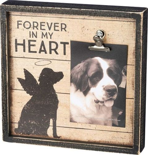 Forever In My Heart - Dog Memorial Frame