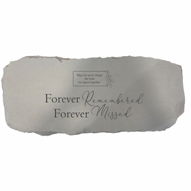 Forever Remembered - Personalized Memorial Bench