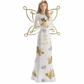 Memorial Angel With Butterfly - Always and Forever