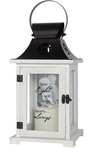 Memorial Picture Lantern - Your Light Will Shine