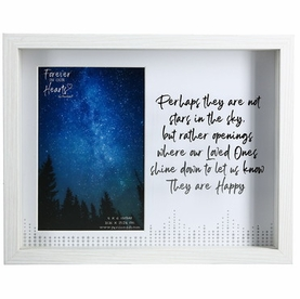 Memorial Picture Frame - Perhaps They Are Not Stars