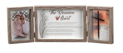 Memorial Picture Frame - The Reunion Heart