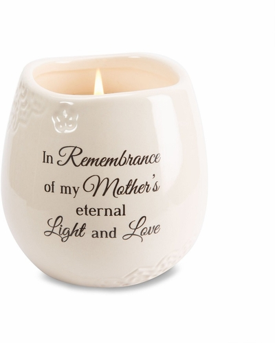 Mother Memorial Candle - In Remembrance