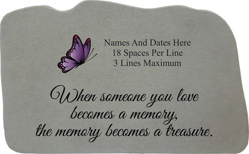 Personalized Garden Memorial with Image Choice - Memory Becomes Treasure
