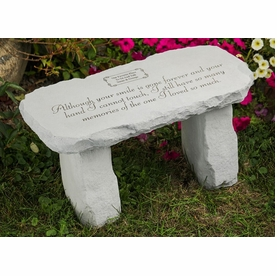 Personalized Memorial Bench - So Many Memories