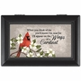 Personalized Memorial Box - Wings of a Cardinal