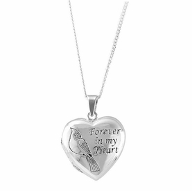 Personalized Memorial Locket - Forever in my Heart