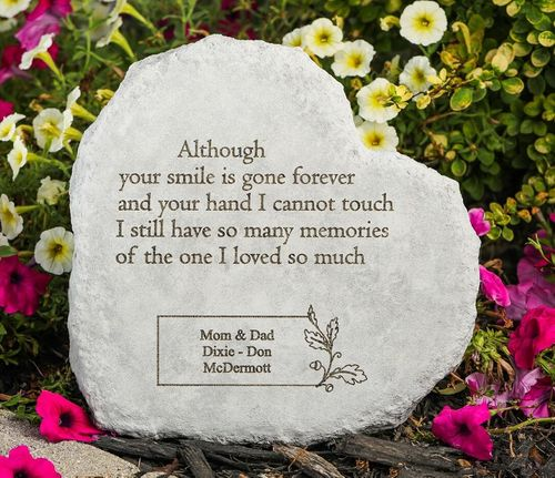 Personalized Memorial Stone - Loved So Much
