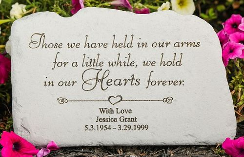 Personalized Memorial Stone - Those We Have Held