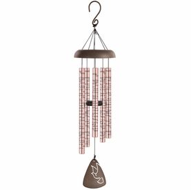 Personalized Memorial Wind Chimes - Amazing Grace
