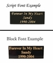 Pet Loss Sympathy Frame - Engraving Option