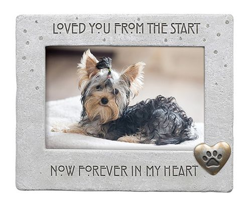 Pet Memorial Picture Frame - Loved You From The Start
