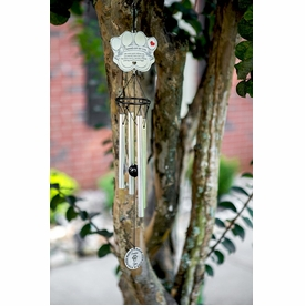 Pet Memorial Wind Chime - Pawprints Left By You