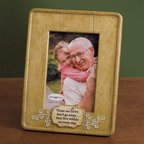 Remembrance Picture Frame - Those We Love Don't Go Away