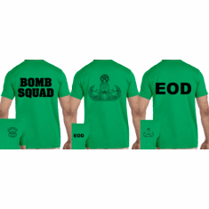 Green T-Shirt with imprint
