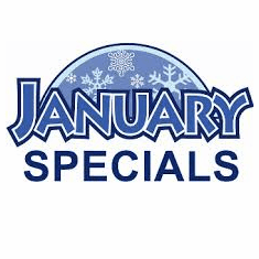 January Specials Coming Soon