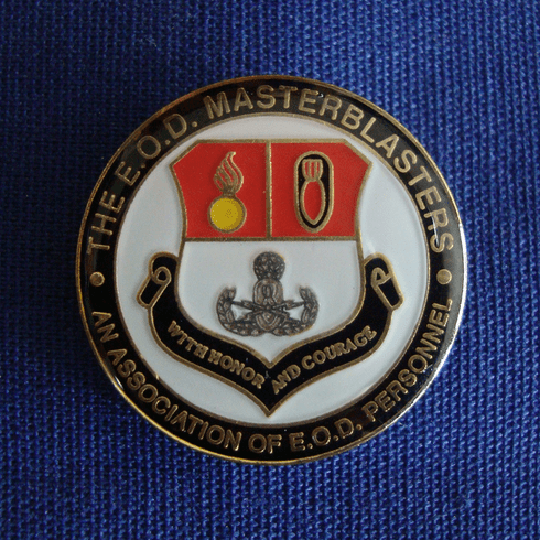 Lapel Pin with Master Blaster Emblem