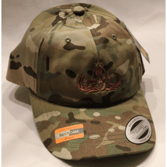 Low Profile Multicam Buckleback Cap