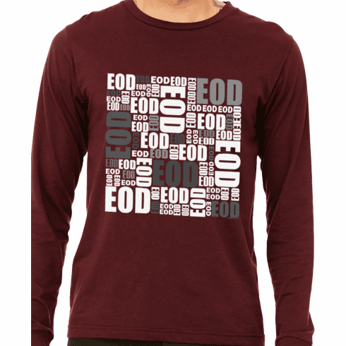 EOD Mosaic Long Sleeve Tee