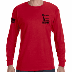 RED Friday Long Sleeve T-Shirt