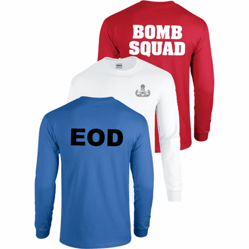 Red, White, and Blue Long Sleeve T's