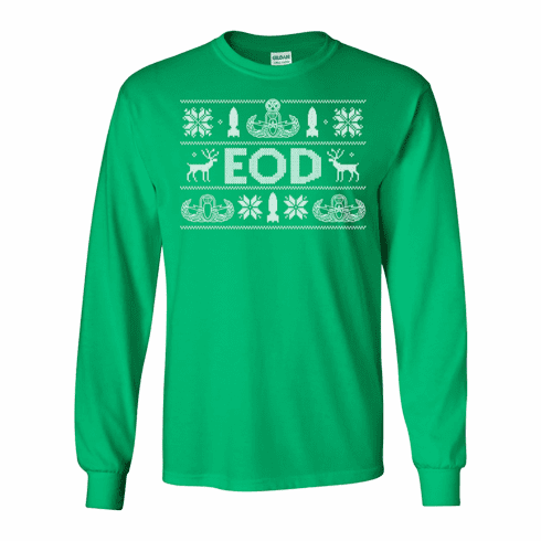 "Long Sleeve EOD ""Ugly Sweater"" Shirt"