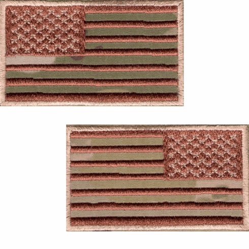 OCP American Flag MultiCam Patch