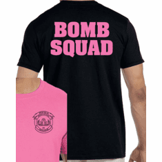 Pink or Black Bomb Squad T-Shirt