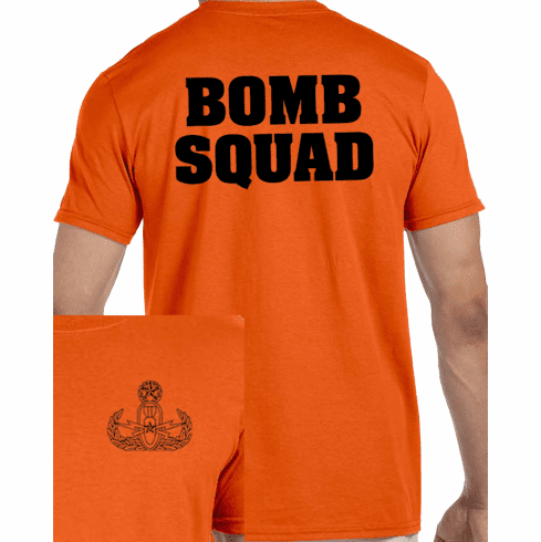 Custom Fall EOD Tee shirt