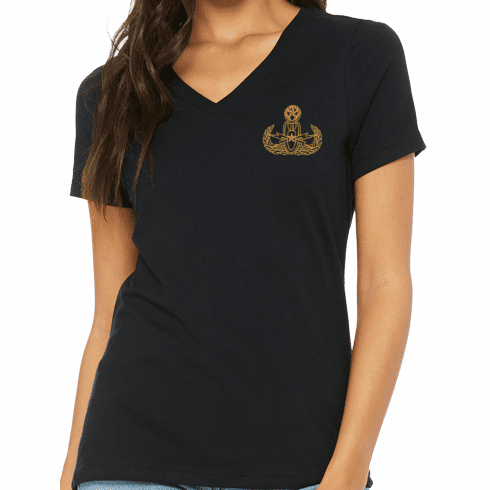 Ladies Cut V-Neck