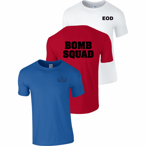 Red, White, Blue T-Shirts