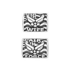 Wife Military Branch Spacer Beads