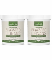 Flaxseed Hulls Bulk Powder Organic 2 Pack