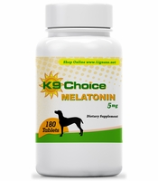 K9 Choice Melatonin 5 mg 180 Tablets