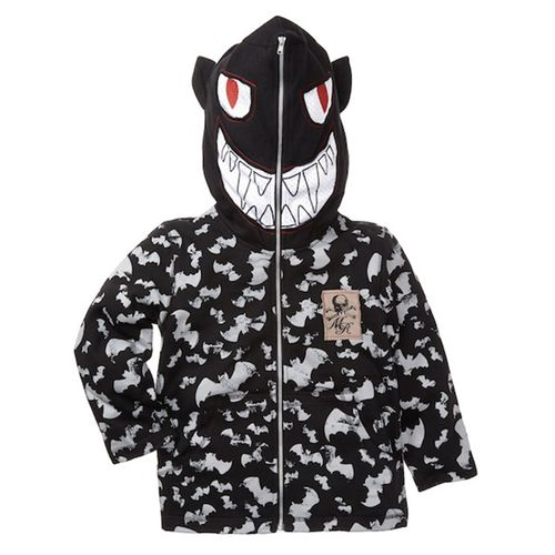 Monster Republic Bat Mask Hooded Sweatshirt