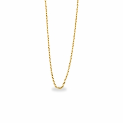 13 Inch Gold Plated Cable Necklace Chain for Babies