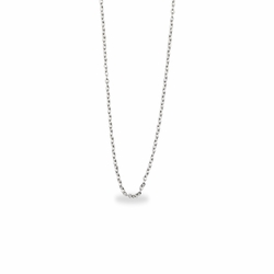 13 Inch Silver Plated Cable Necklace Chain for Babies