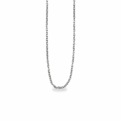 15 Inch Silver Plated Cable Necklace Chain